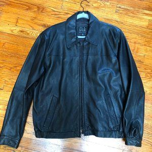 Jos. A. Bank Signature Collection Leather Jacket